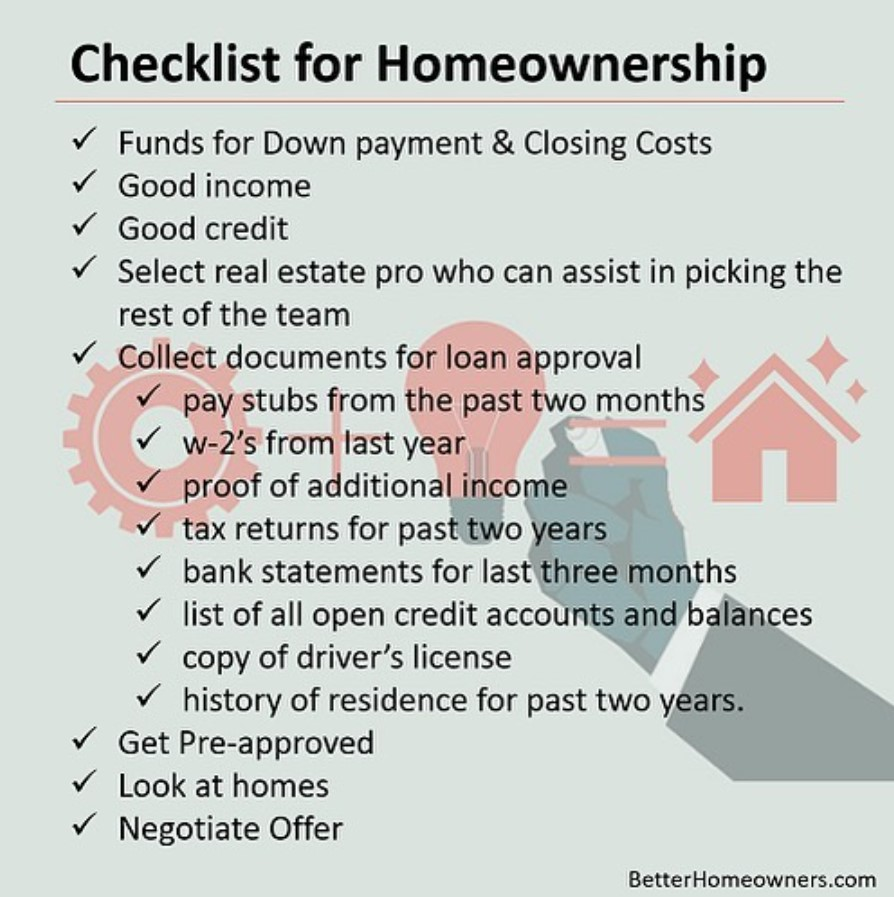 Florida Homebuyers Checklist